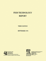 Fiber Distributed Data Interface [FDDI] Technology Report