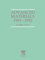 Advanced Materials 1991-1992