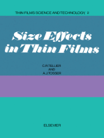 Size Effects in Thin Films