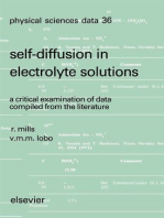 Self-diffusion in Electrolyte Solutions