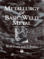 Metallurgy of Basic Weld Metal