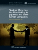 Strategic Marketing Decision-Making within Japanese and South Korean Companies