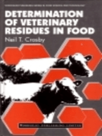 Determination of Veterinary Residues in Food