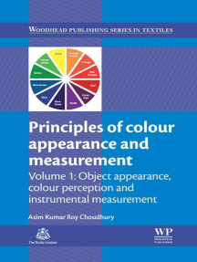 Principles of Colour and Appearance Measurement: Object Appearance, Colour Perception and Instrumental Measurement