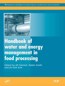 Handbook of Water and Energy Management in Food Processing