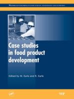 Case Studies in Food Product Development