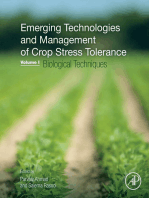 Emerging Technologies and Management of Crop Stress Tolerance