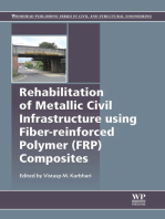 Rehabilitation of Metallic Civil Infrastructure Using Fiber Reinforced Polymer (FRP) Composites: Types Properties and Testing Methods
