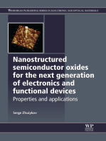 Nanostructured Semiconductor Oxides for the Next Generation of Electronics and Functional Devices