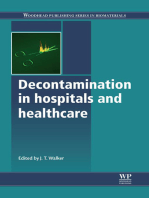 Decontamination in Hospitals and Healthcare