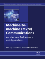 Machine-to-machine (M2M) Communications: Architecture, Performance and Applications