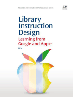 Library Instruction Design