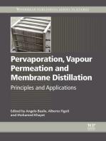 Pervaporation, Vapour Permeation and Membrane Distillation