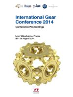 International Gear Conference 2014