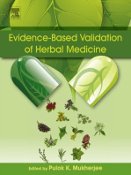 Evidence-Based Validation of Herbal Medicine
