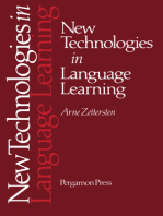 New Technologies in Language Learning