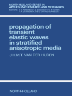 Propagation of Transient Elastic Waves in Stratified Anisotropic Media