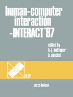 Human-Computer Interaction - INTERACT '87