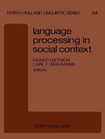 Language Processing in Social Context