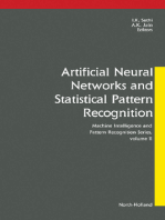 Artificial Neural Networks and Statistical Pattern Recognition