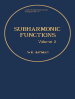 Subharmonic Functions