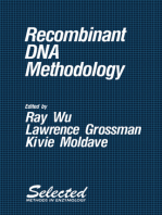 Recombinant DNA Methodology