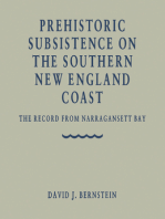 Prehistoric Subsistence on the Southern New England Coast