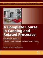 A Complete Course in Canning and Related Processes