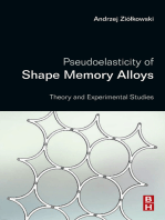 Pseudoelasticity of Shape Memory Alloys
