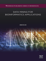 Data Mining for Bioinformatics Applications