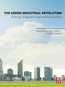 The Green Industrial Revolution: Energy, Engineering and Economics