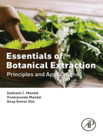 Essentials of Botanical Extraction