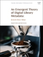 An Emergent Theory of Digital Library Metadata