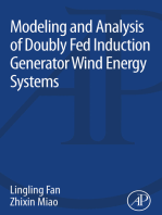 Modeling and Analysis of Doubly Fed Induction Generator Wind Energy Systems