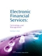 Electronic Financial Services: Technology and Management