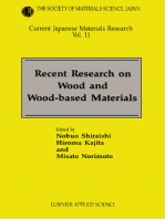 Recent Research on Wood and Wood-Based Materials: Current Japanese Materials Research