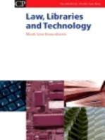 Law, Libraries and Technology