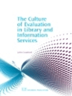 The Culture of Evaluation in Library and Information Services