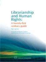 Librarianship and Human Rights