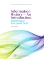 Information History - An Introduction