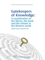 Gatekeepers of Knowledge