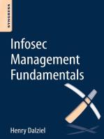 Infosec Management Fundamentals
