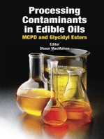 Processing Contaminants in Edible Oils