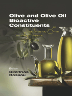 Olive and Olive Oil Bioactive Constituents