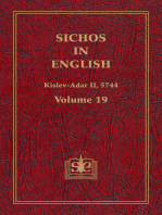 Sichos In English, Volume 19