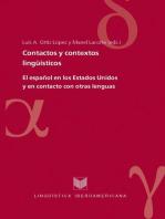 Contactos y contextos lingüísticos