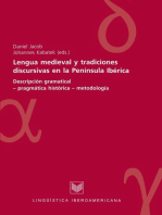 Lengua medieval y tradiciones discursivas en la Península Ibérica
