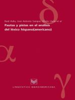 Pautas y pistas en el análisis del léxico hispano(americano)