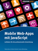 Mobile Web-Apps mit JavaScript