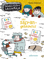 Detektivbüro LasseMaja - Das Safrangeheimnis (Bd. 16)